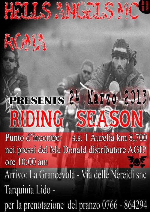 Riding Season 2013
