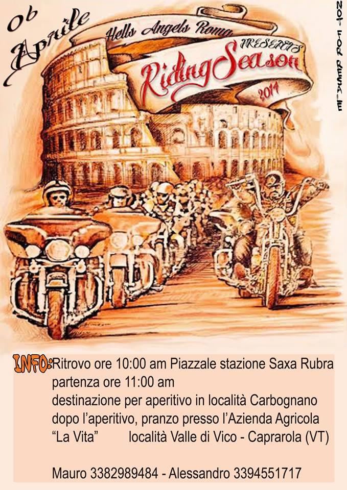 riding season Roma